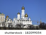 Churches Of Moscow Kremlin....