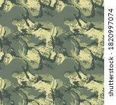 digital camouflage mimetic ...   Shutterstock .eps vector #1820997074