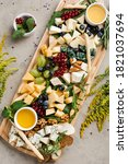 Assortment Of Different Cheeses ...