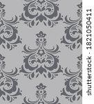 damask seamless pattern... | Shutterstock .eps vector #1821050411