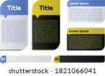 a simple use template for... | Shutterstock .eps vector #1821066041