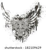celtic cross | Shutterstock .eps vector #182109629