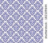 vector damask wallpaper. design ... | Shutterstock .eps vector #182109644