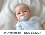 Headshot Portrait Of Cute...