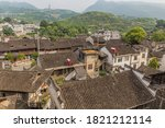 Aerial View Of Furong Zhen Tow...