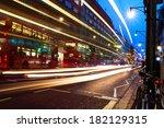 Oxford Street In Night  London...