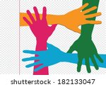 background colorful silhouette...   Shutterstock .eps vector #182133047