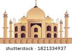 taj mahal place of worship | Shutterstock .eps vector #1821334937