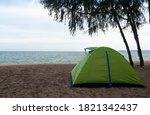 Traveler's Green Tent Being...