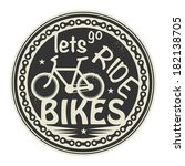 label or stamp with text lets...