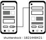 prototype on mobile device icon....