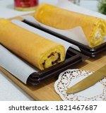 Bolu Gulung Or Roll Cake With...