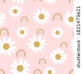 Daisies Seamless   Pattern ...