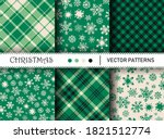 Seamless Vector Plaid Patterns...