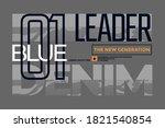 leader the new generation ... | Shutterstock .eps vector #1821540854