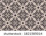 ornament baroque seamless... | Shutterstock .eps vector #1821585014