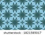 ornament baroque seamless... | Shutterstock .eps vector #1821585017