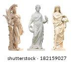 ancient women statue in the... | Shutterstock . vector #182159027