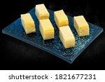 tamako sashimi  sweet egg...   Shutterstock . vector #1821677231