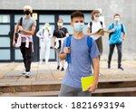 Portrait Of Teenager In...