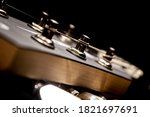 Headstock And Machine Head From ...
