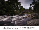 The Falls Of Dochart At Dusk ...