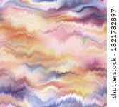 Seamless Abstract Wave Pattern. ...