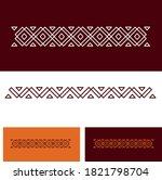 elegant traditional old arabian ... | Shutterstock .eps vector #1821798704