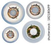 Set Of Spherical Panoramas Of...