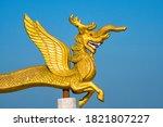 Dragon Statue In Golden Temple  ...