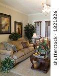 contemporary home interior... | Shutterstock . vector #1821826
