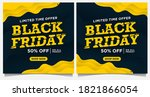 black friday event banners ... | Shutterstock .eps vector #1821866054