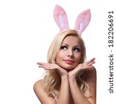 Sexy Woman With Bunny Ears....