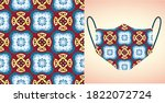 abstract. background pattern... | Shutterstock .eps vector #1822072724