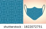 abstract. background pattern... | Shutterstock .eps vector #1822072751