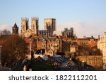 View Of York Minster With  Yor...