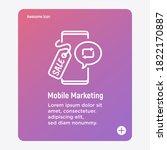 mobile marketing  digital...   Shutterstock .eps vector #1822170887