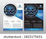 corporate business flyer...   Shutterstock .eps vector #1822175651