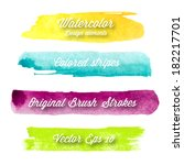 Vector Watercolor Design...