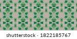 Zigzag Wavy Wallpaper. Green...