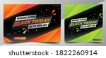 black friday sale offer design... | Shutterstock .eps vector #1822260914