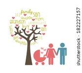 family design over white...   Shutterstock .eps vector #182227157