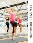 fitness  sport  training  gym... | Shutterstock . vector #182227511