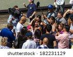 new york yankees player mariano ... | Shutterstock . vector #182231129