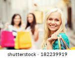shopping and tourism concept  ... | Shutterstock . vector #182239919