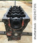 Removed Engine Block For...