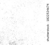 grunge black and white ink... | Shutterstock .eps vector #1822524674