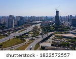 Aerial View Of Avenida Radial...