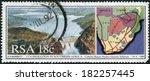 south africa   circa 1990 ... | Shutterstock . vector #182257445