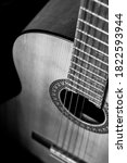 Old Acoustic Guitar  Classical...